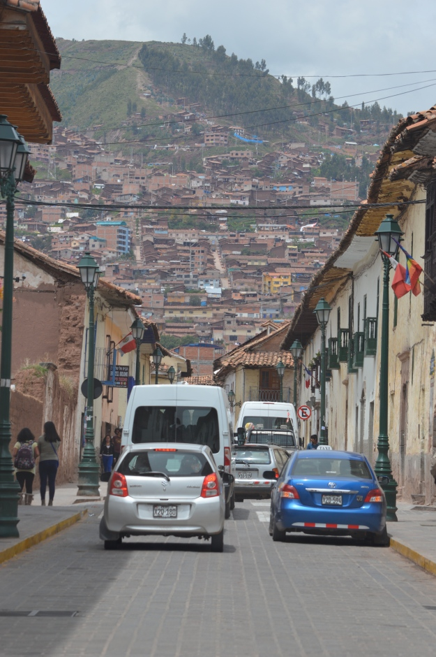 Busy Cusco Street
