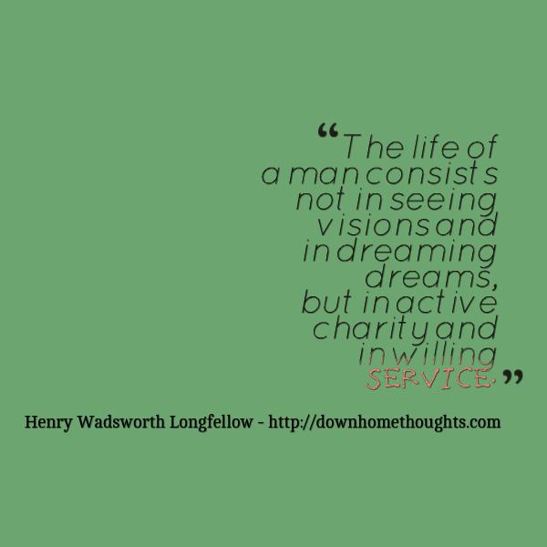 Quote Longfellow on Service