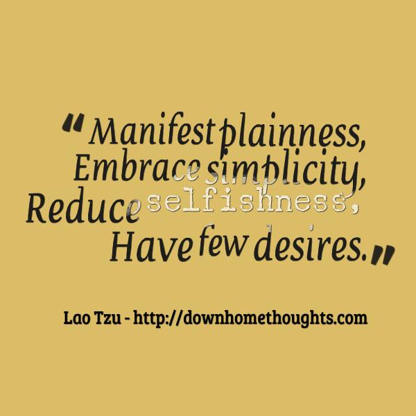Quote Tzu on Selfishness