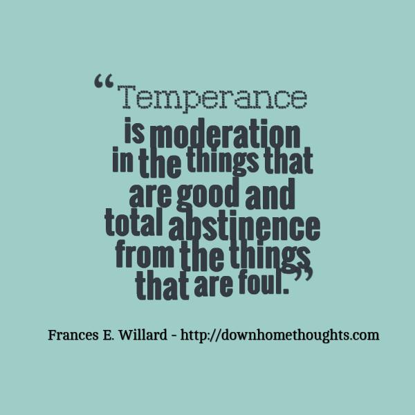 Quote Willard on Temperance